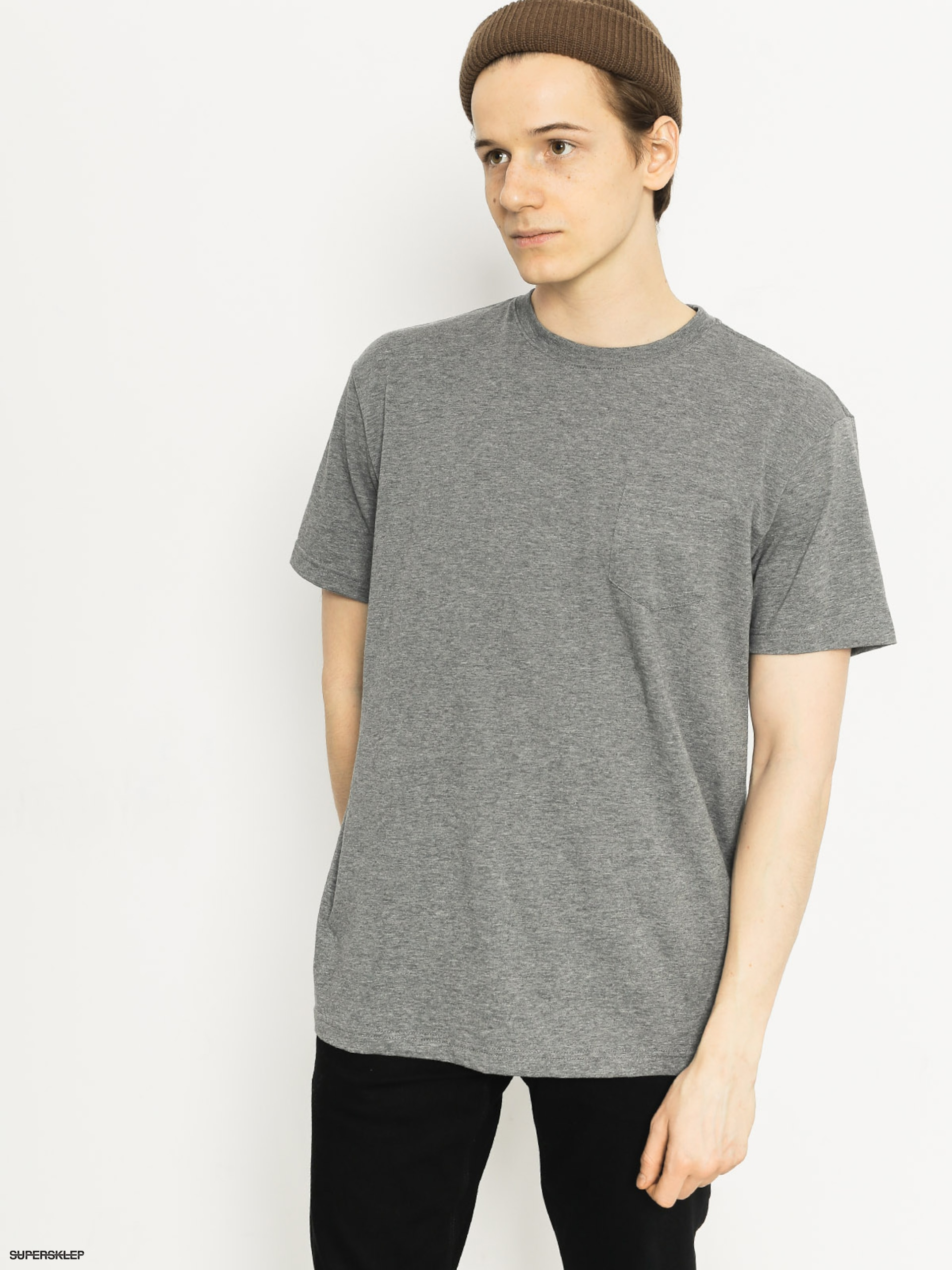 T-shirt DC Basic DC Pocket (grey heather)