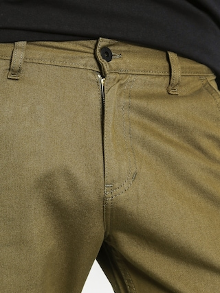 Spodnie Backyard Cartel Chino Jogger (olive green)