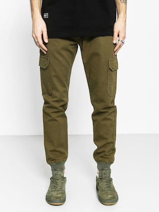 Spodnie Backyard Cartel Immortal Jogger (olive green)