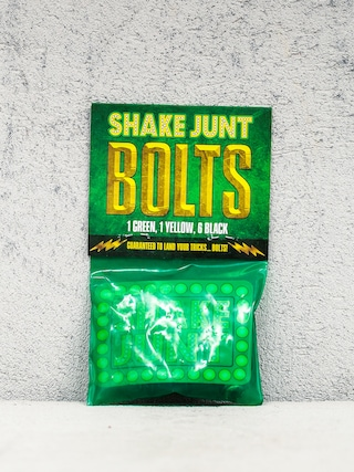 Montażówki Shake Junt Bolts Phillips (black/green/yellow)