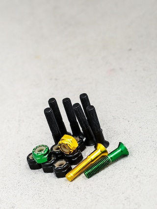 Montażówki Shake Junt Bolts Phillips (black/green/yellow)