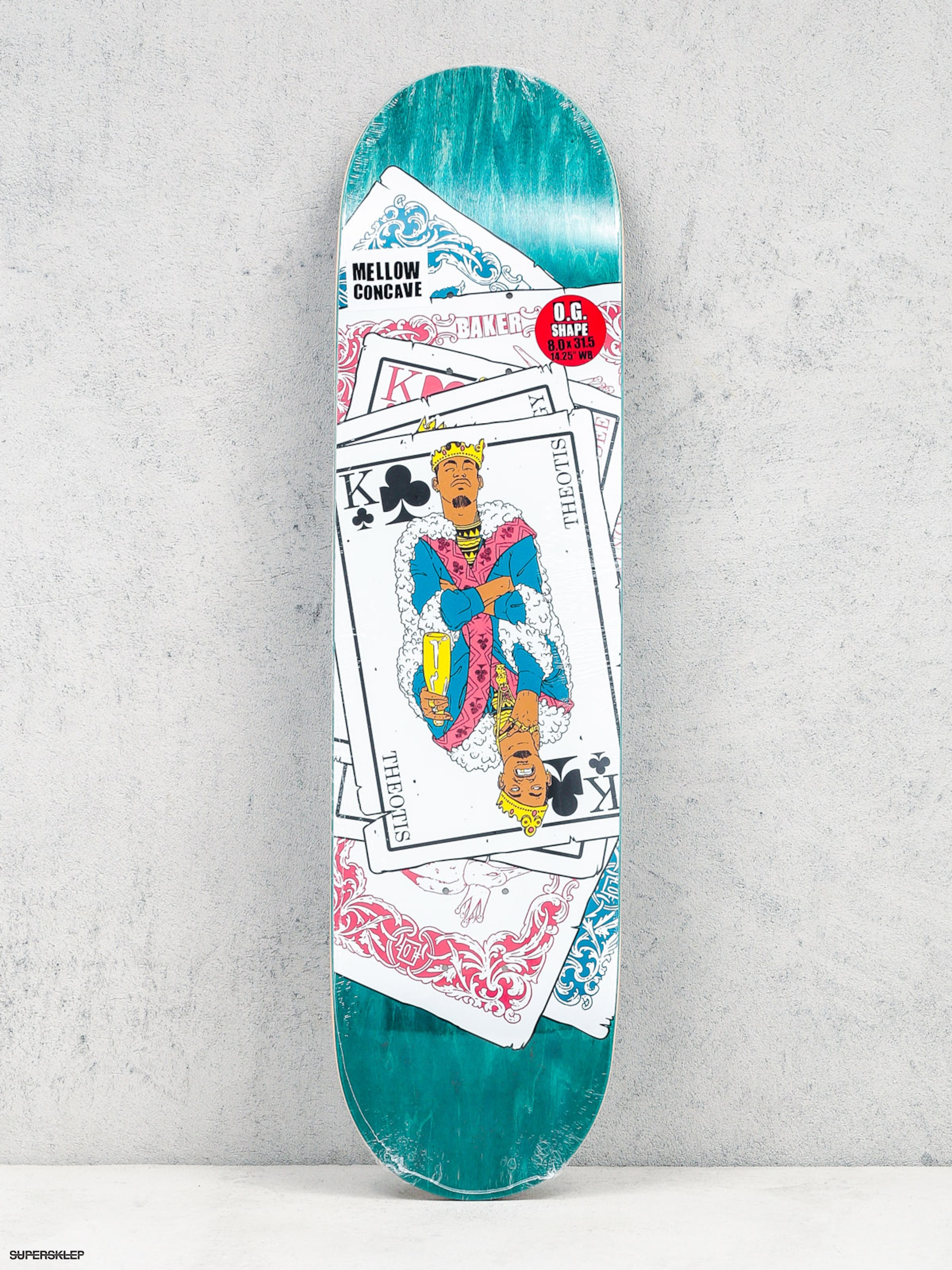 Deck Baker Tb King Of Clubs (teal)