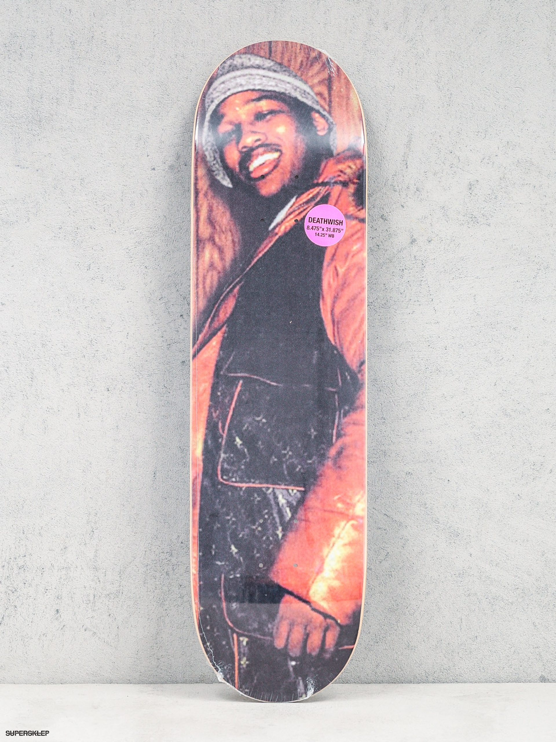 Deck Deathwish King Of Ny (orange/black)
