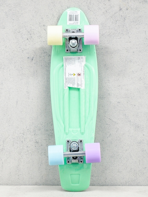 Deskorolka cruiser Playlife Vinyl (mint/multicolor)