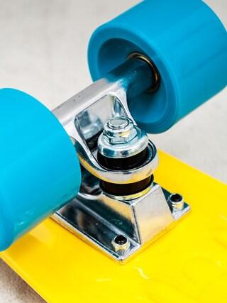 Deskorolka cruiser Playlife Vinyl (yellow/green blue)