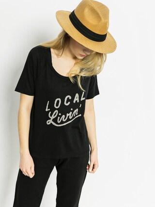 T-shirt Roxy Boyfriend Local Wmn (black)