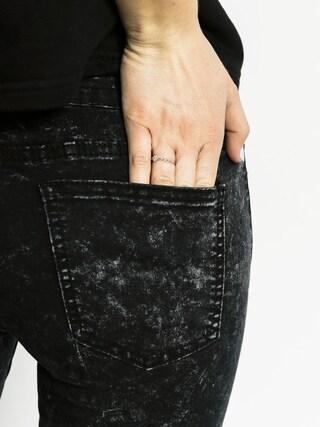 Spodnie Sixth June Jean Biker Dystroy Wmn (black wash)