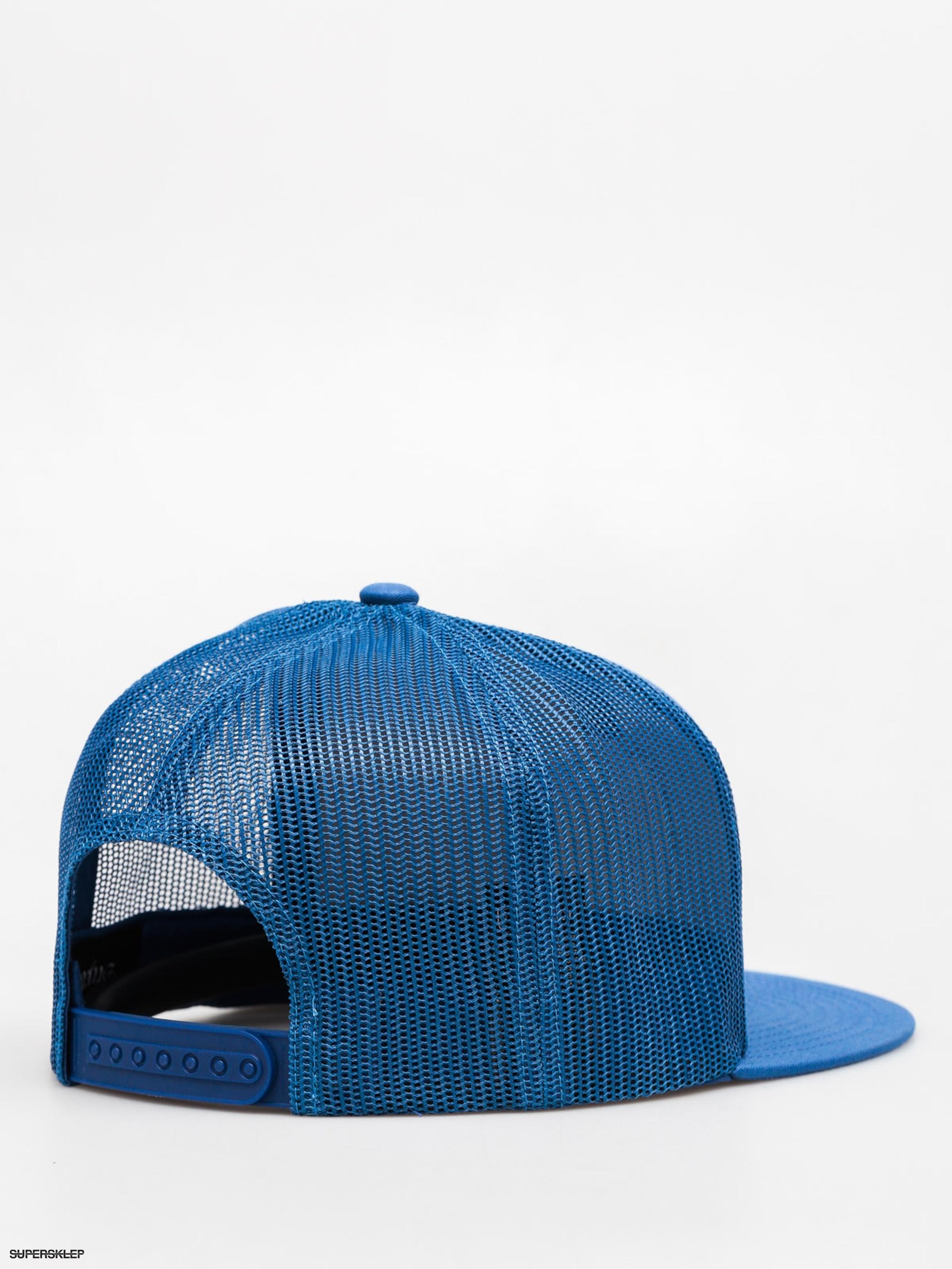 Czapka z daszkiem Brixton Wheeler Mesh (blue/white)