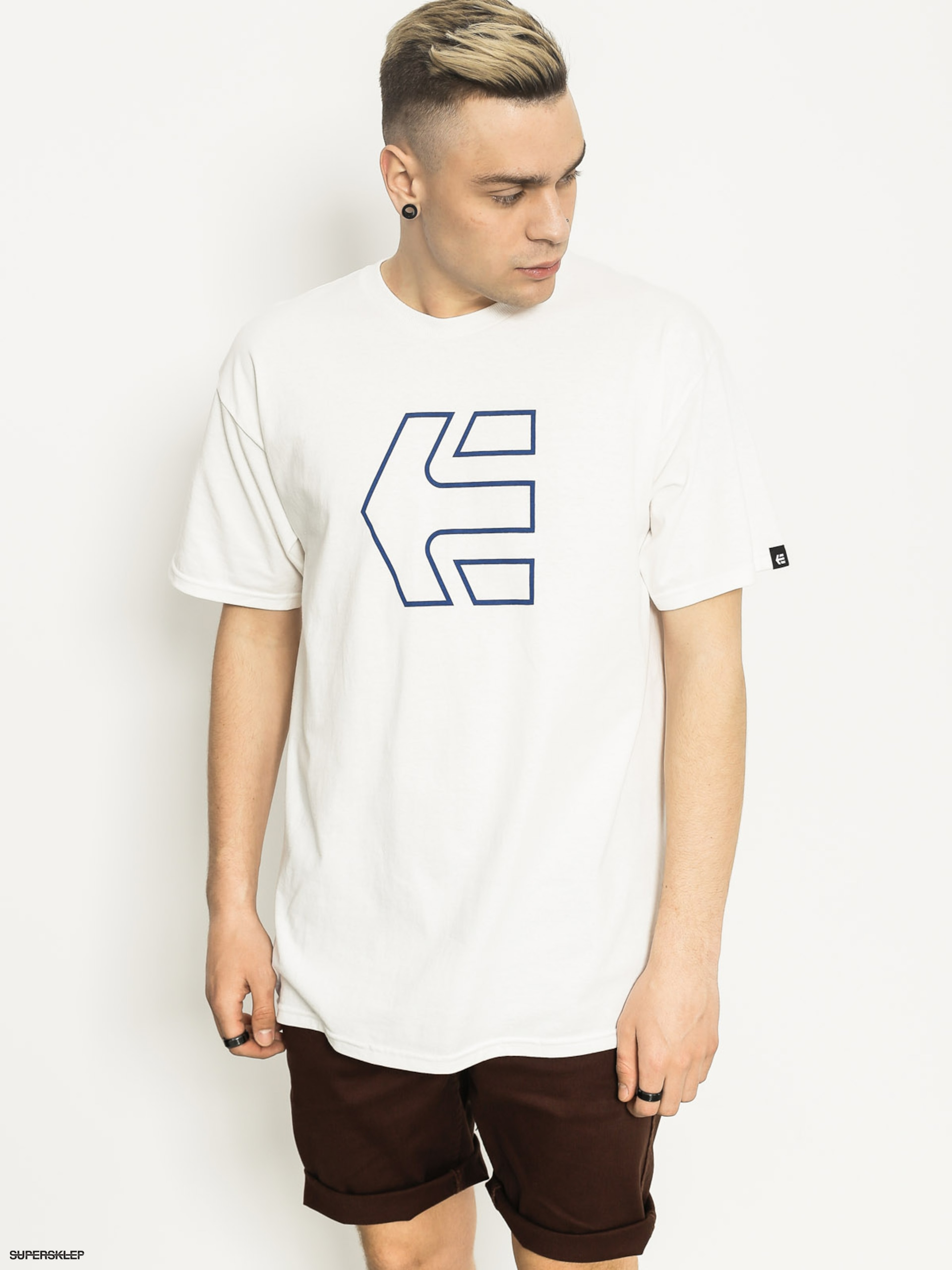 T-shirt Etnies Icon Outline (white)
