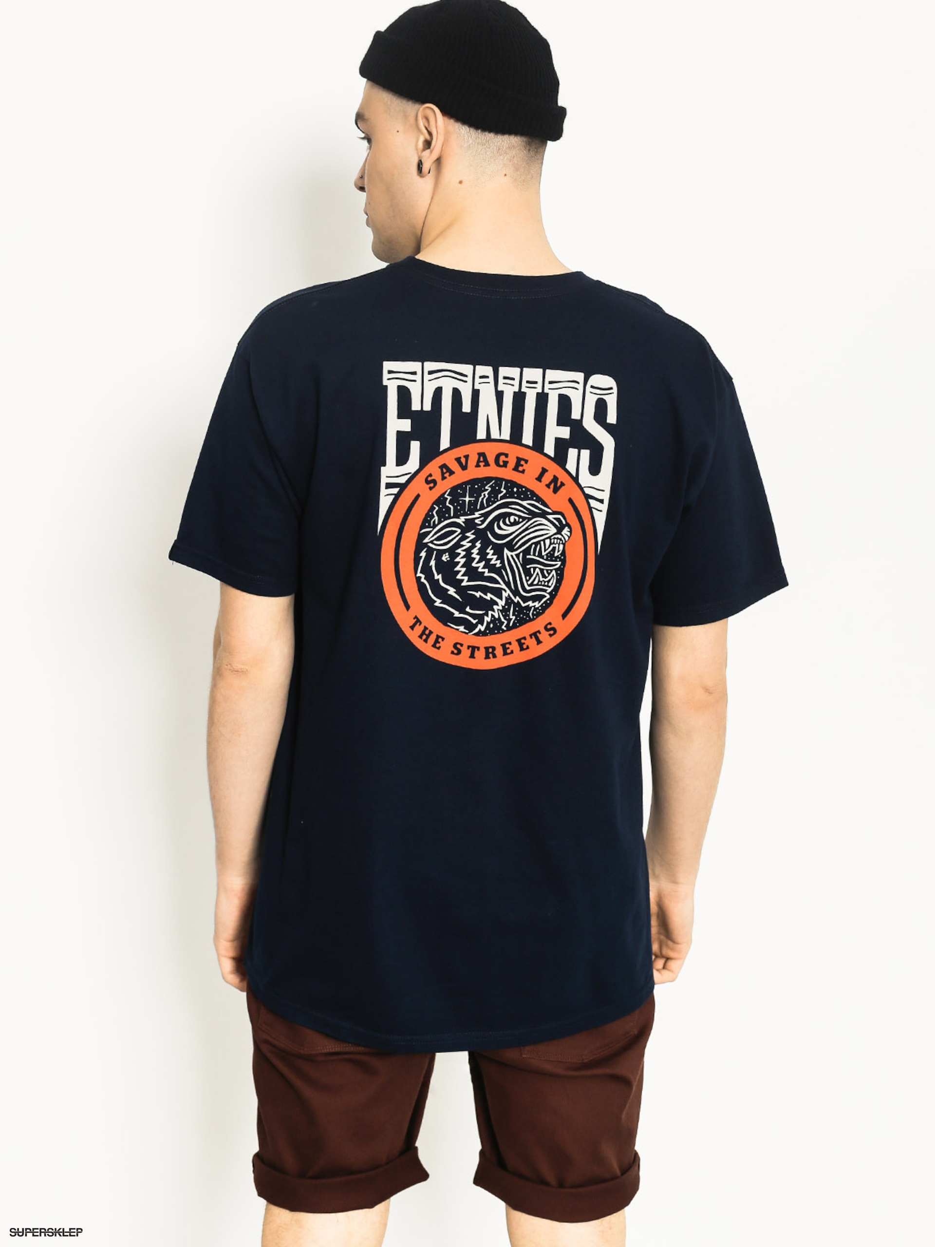 T-shirt Etnies Savage Streets (navy)