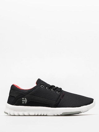 Buty Etnies Scout Wmn (black/grey/red)