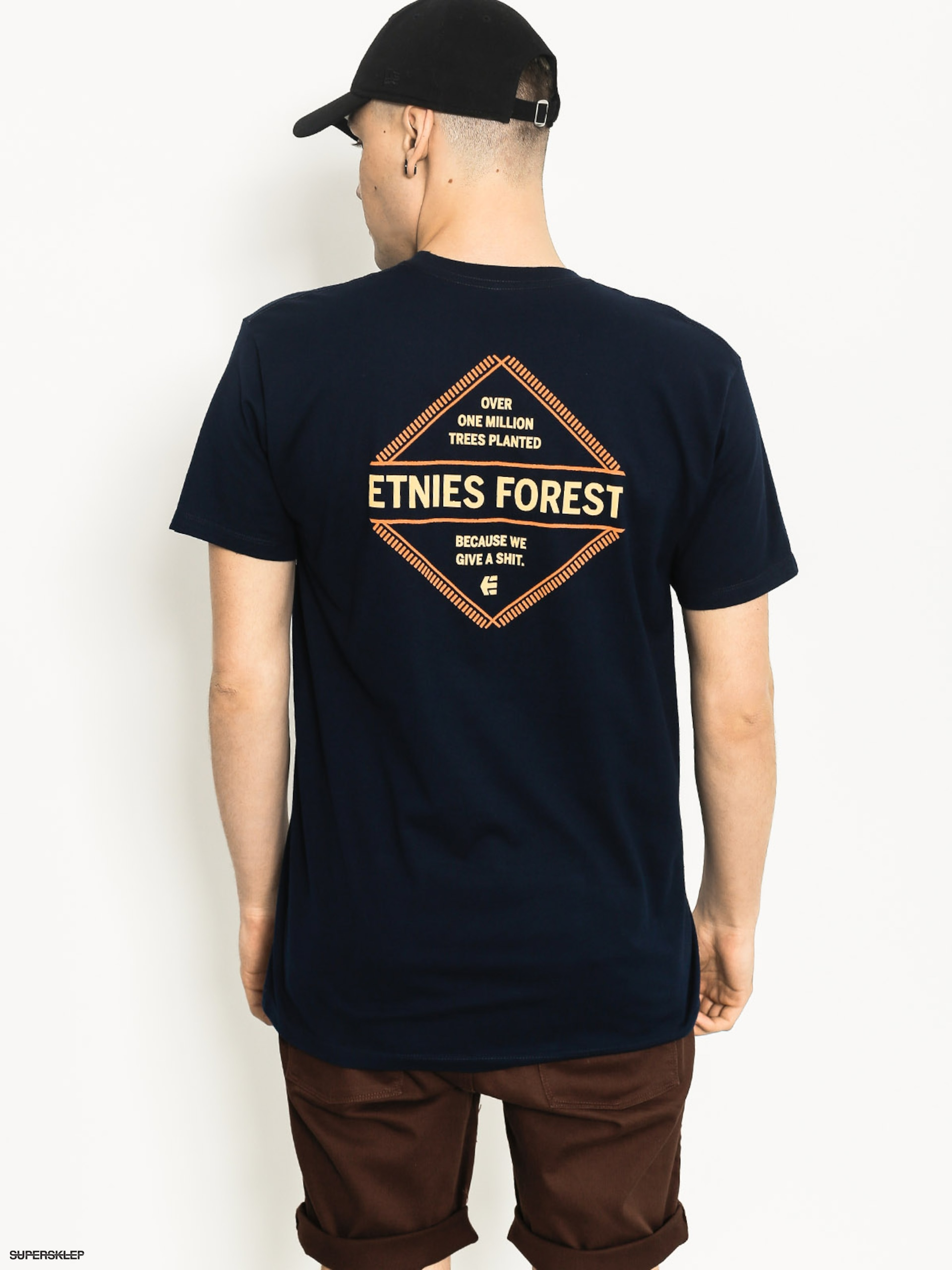 T-shirt Etnies Give A Shit (navy)