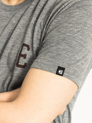 T-shirt Etnies Vintage Team (grey heather)