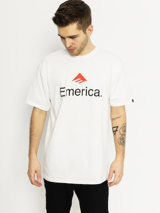 T-shirt Emerica Emerica Skateboard Logo (white)
