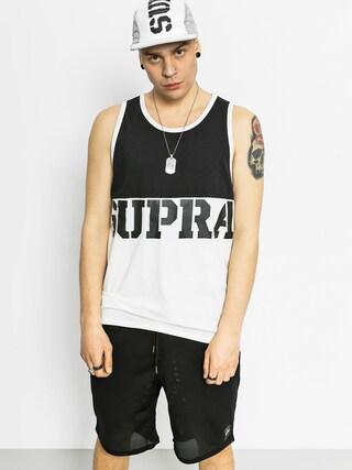 Koszulka Supra Block Tank (black/white)