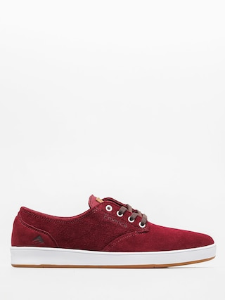 Buty Emerica The Romero Laced (burgundy/white)