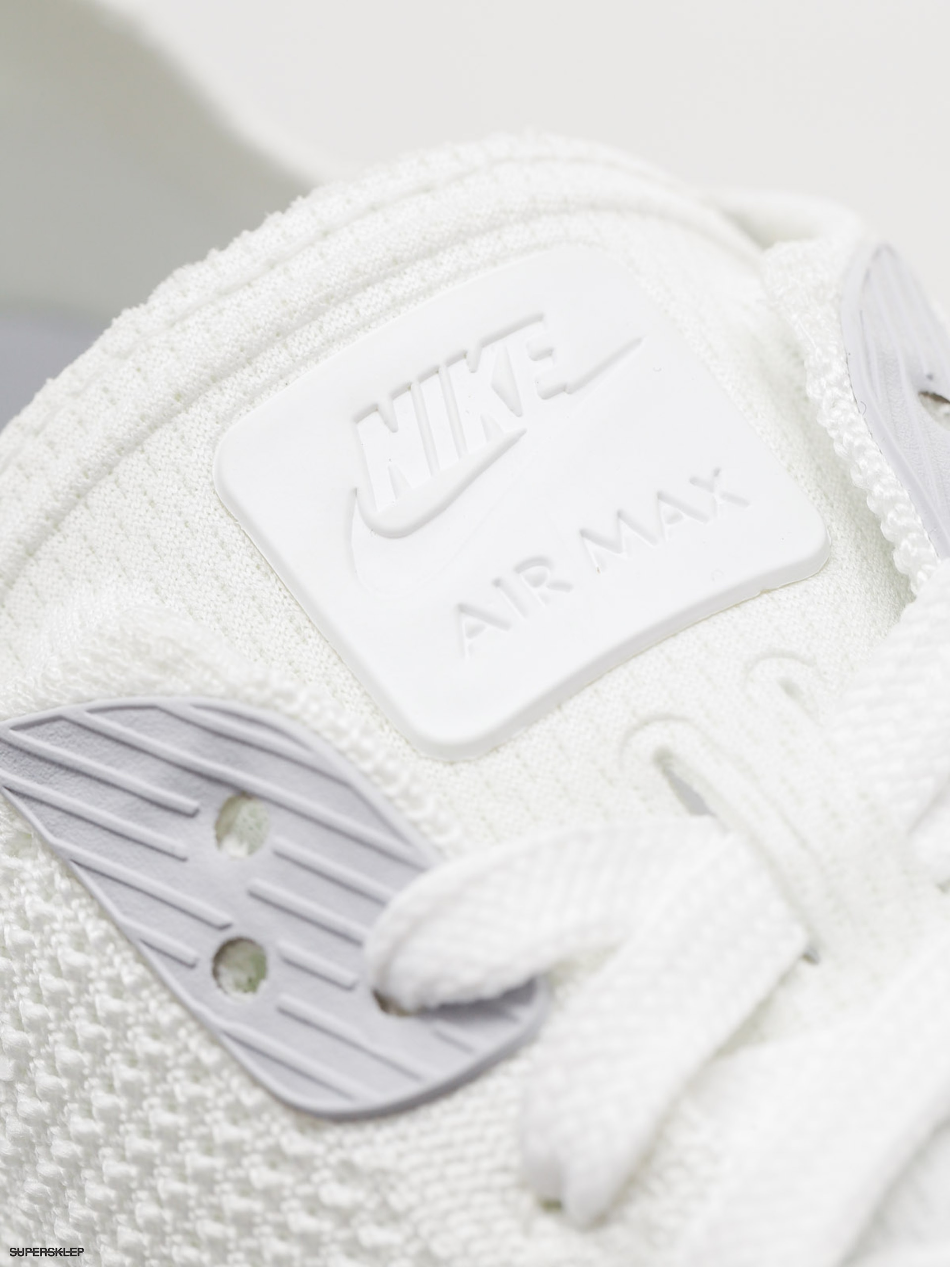 Buty Nike Air Max 90 Ultra 2.0 Flyknit (white/white pure platinum)