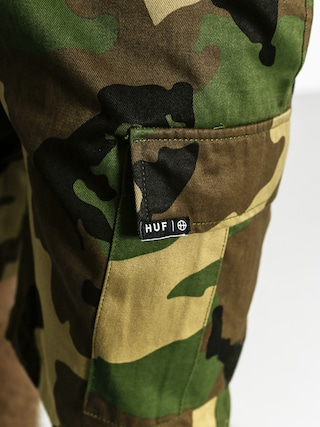 Szorty HUF Fatigue Cargo (woodland)