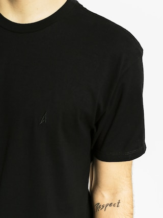 T-shirt Altamont Micro Embroidery (black/grey)