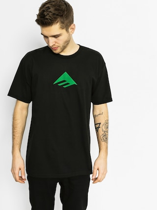 T-shirt Emerica Emerica Triangle (black/green)