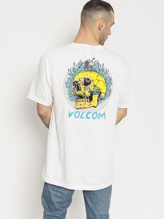 T-shirt Volcom Shred Head Pckt (wht)