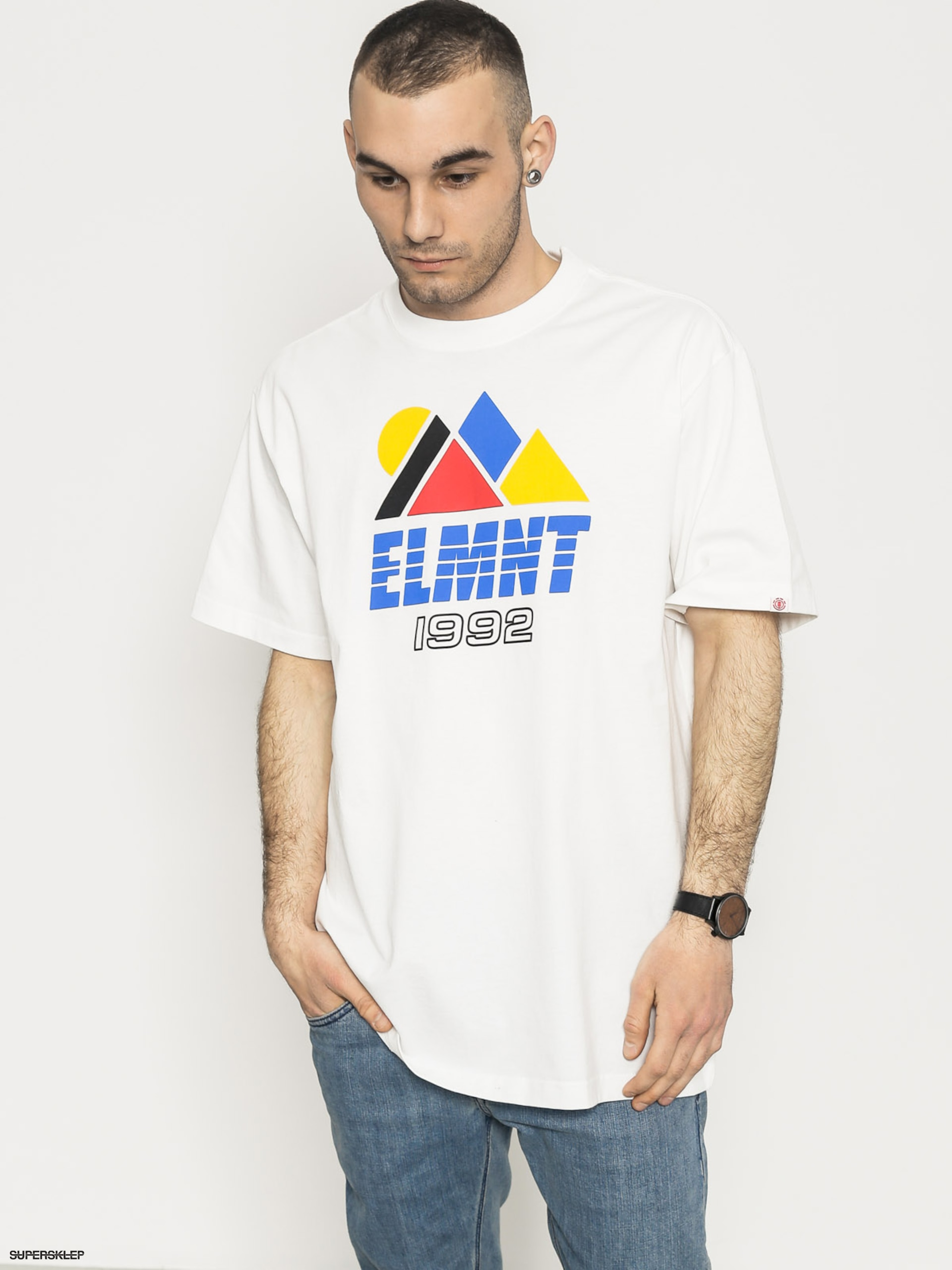 T-shirt Element Angles (optic white)