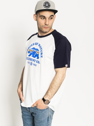 T-shirt Element Vista Raglan (optic white)