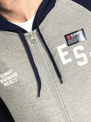 Bluza z kapturem Element Goshen ZHD (grey heather)
