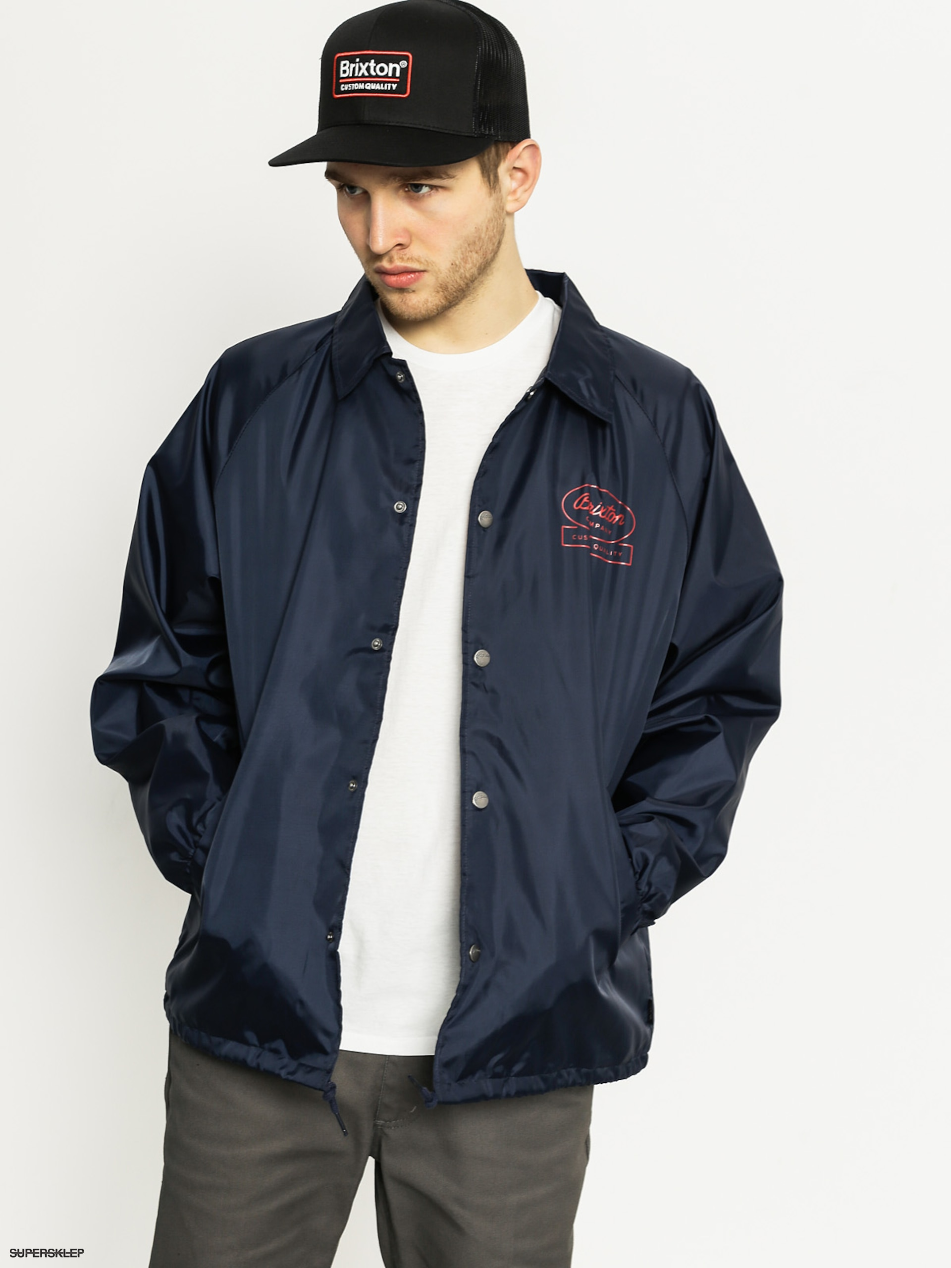 Kurtka Brixton Dale (light navy)