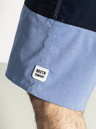 Boardshorty Brixton Barge Trunk (light blue/dark navy)