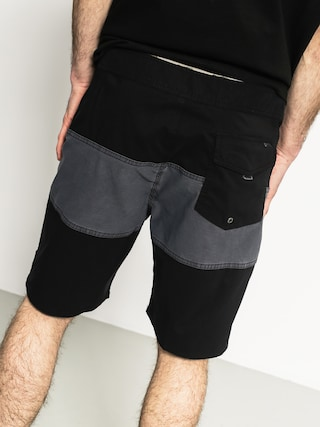 Boardshorty Brixton Barge Trunk (washed black/black)