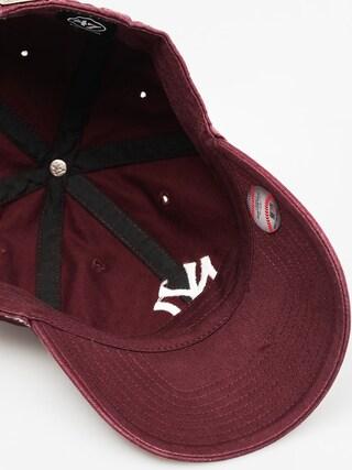 Czapka z daszkiem 47 Brand New York Yankees ZD (washed maroon)