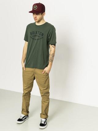 T-shirt Brixton Gasket Prem (chive)