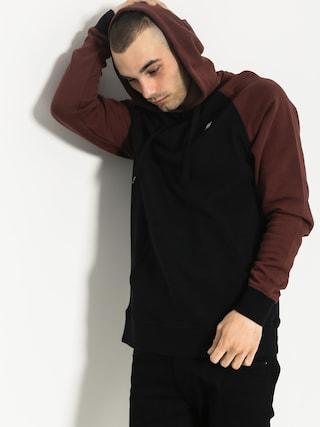 Bluza z kapturem Etnies E Base HD (black/red)