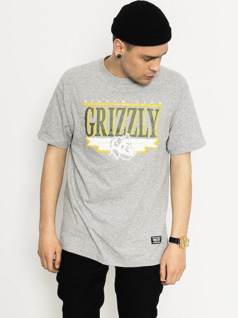 T-shirt Grizzly Griptape Silver Tip Cup (heather grey)