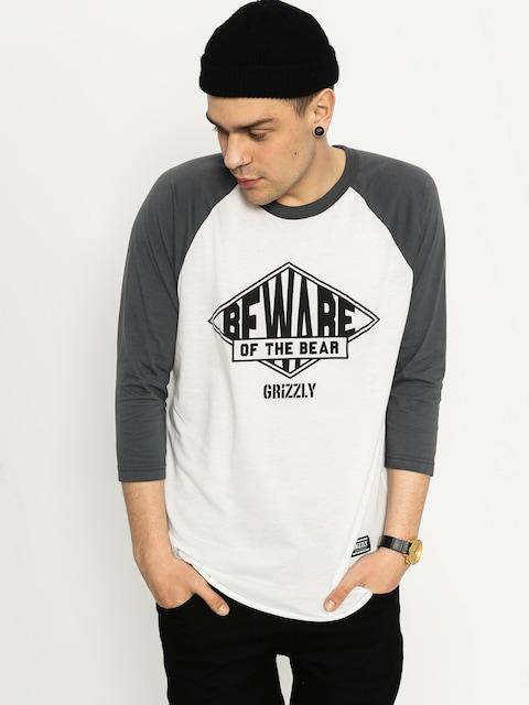 Koszulka Grizzly Griptape Pyramid Raglan (grey)