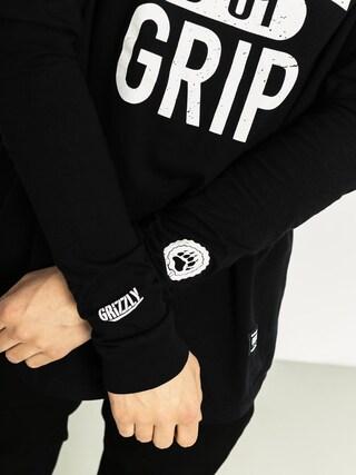Longsleeve Grizzly Griptape Big City Seal (black)