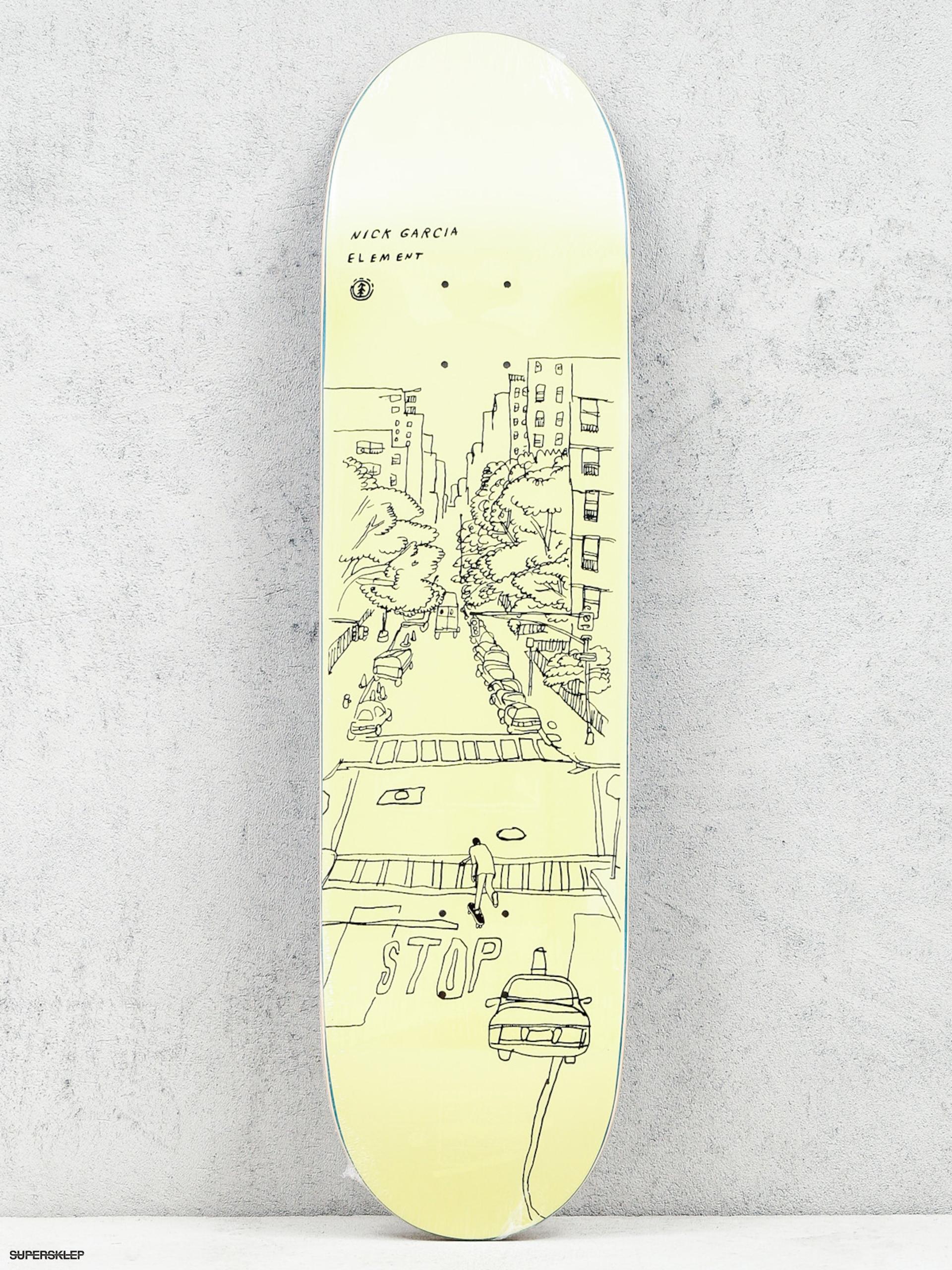 Deck Element Garcia Sketch