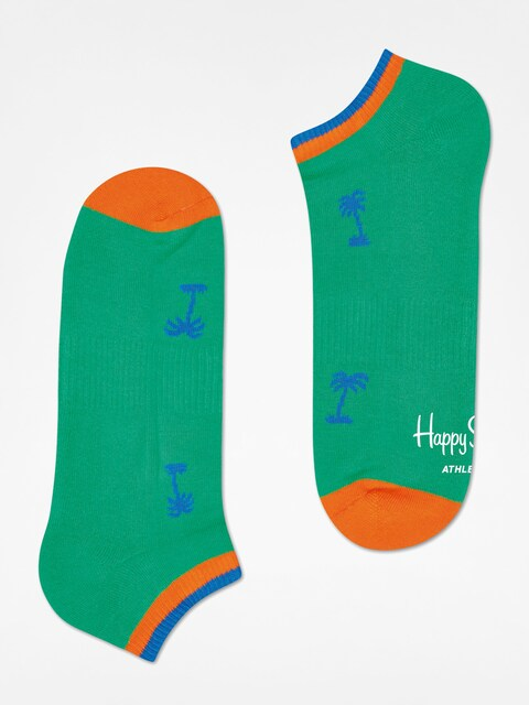 Skarpetki Happy Socks Athletic Palm Beach Low (green)