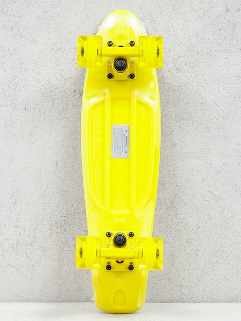 Deskorolka cruiser Fish Skateboards 01 (yellow/yellow/yellow)
