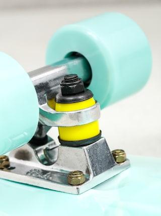 Deskorolka cruiser Fish Skateboards 01 (green/silver/green)