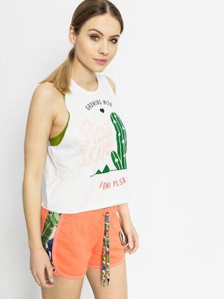 Koszulka Femi Pleasure Passan Wmn (wht)