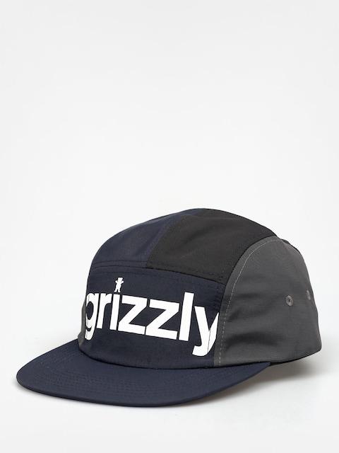 Czapka z daszkiem Grizzly Griptape Shades 5 Panel ZD (black)