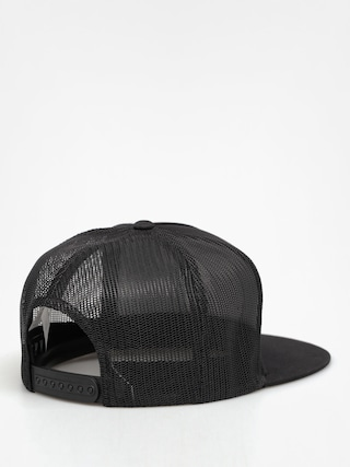 Czapka z daszkiem Kr3w Patch Seal Trucker ZD (black/black)