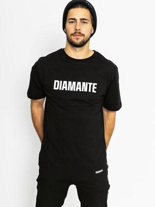 T-shirt Diamante Wear Best Friend Worst Enemy (black)