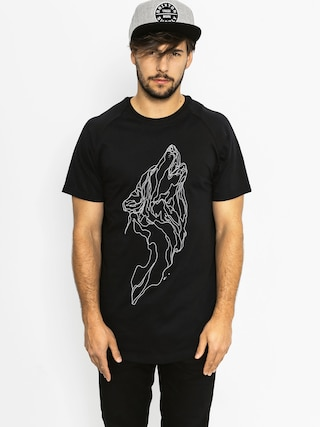 T-shirt Majesty Wolf (black)