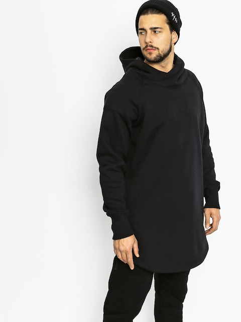 Bluza z kapturem Majesty Wolfshood HD (black)