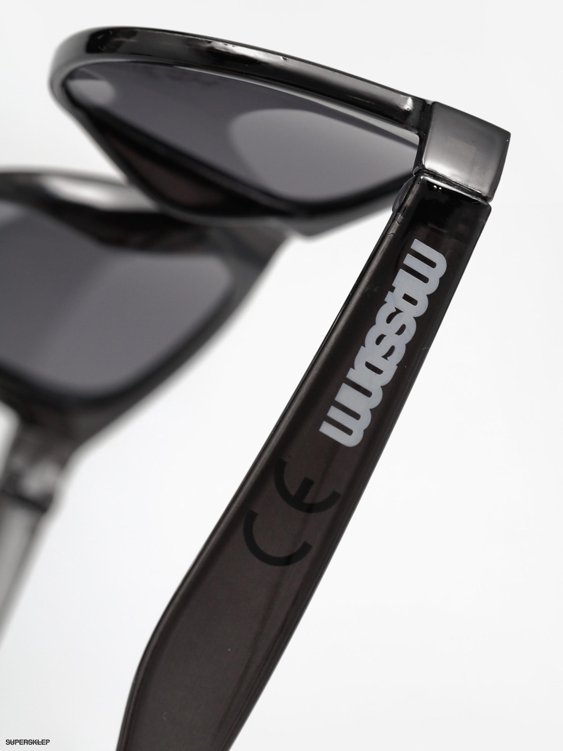 Okulary przeciwsłoneczne MassDnm Jonh (transparent black)