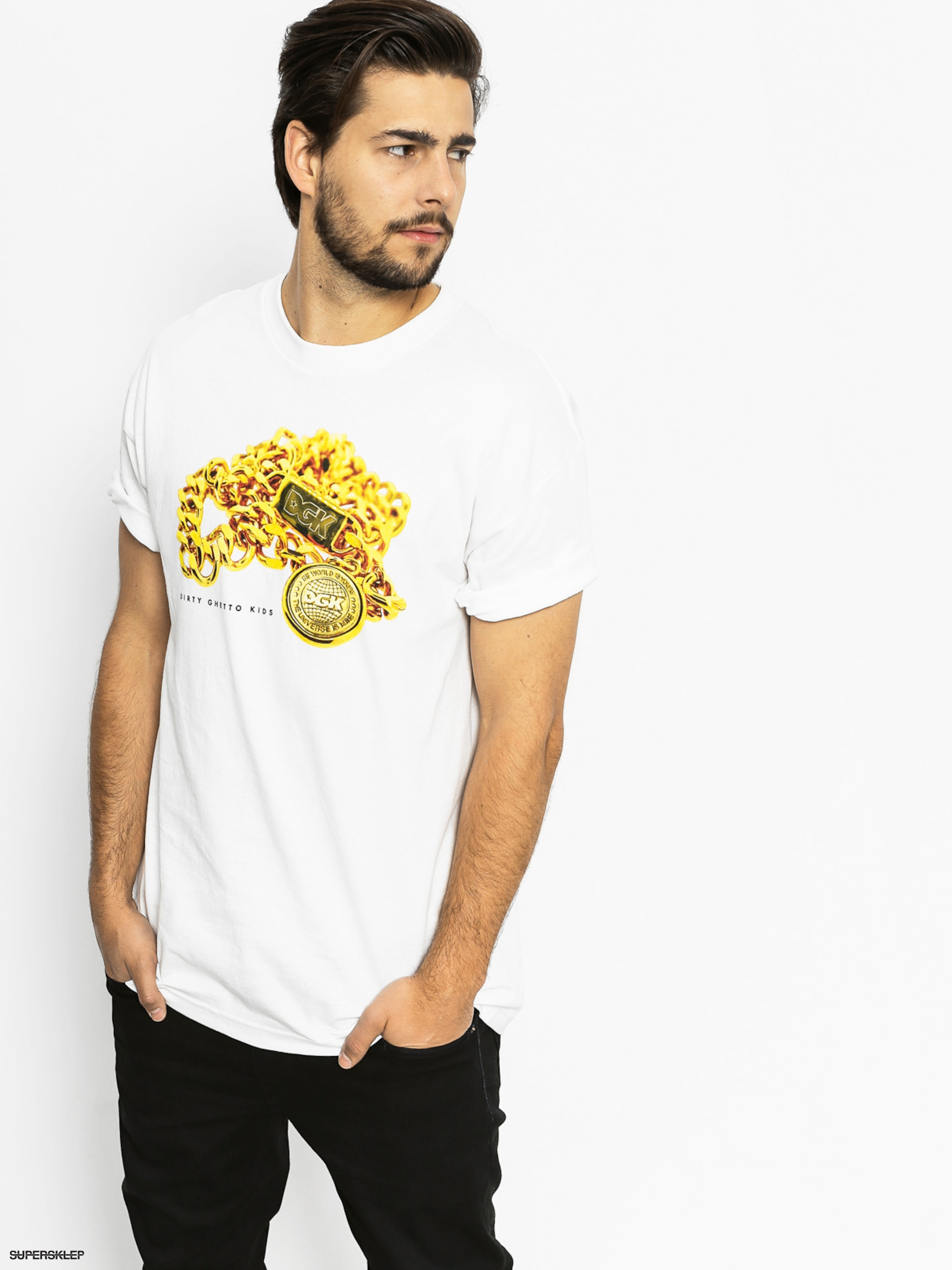 T-shirt DGK Medallion (white)