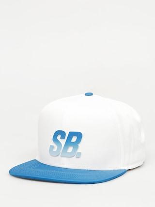 Czapka z daszkiem Nike SB Fade Dri Fit ZD (white/blue)